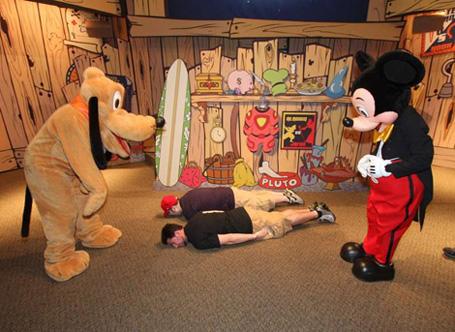 Planking at Disney