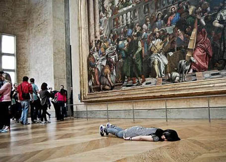 Planking in the Museum